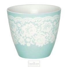 Greengate latte cup Liva mint SS15