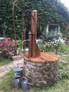 Design Jardin, Garden Design, Water Garden, Lawn And Garden, Outdoor Projects, Garden Projects, Outdoor Restaurant Design, Outdoor Dining, Outdoor Decor