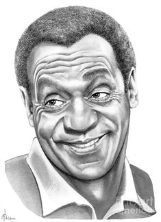 Bill Cosby by Murphy Elliott ~ traditional pencil art