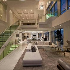 Browse our high-end Contemporary design portfolio for project galleries and luxury interior design packages available to clients of Interiors by Steven G. Modern Home Interior Design, Dream House Interior, Luxury Homes Dream Houses, Dream Home Design, Modern House Design, Luxury Interior, Contemporary Interior, Modern Mansion Interior, Design Case