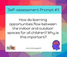 Free resources – RARE Early Childhood Support Services Aussie Childcare Network, Self Assessment, Early Childhood Education, Prompts, Curriculum, Literacy, Teaching, Reflection, Quotes