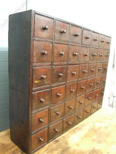 Georgian Apothecary Cabinet Of Drawers   Antiques Atlas