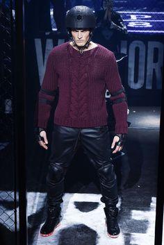 Philipp Plein Fall 2015 Menswear Fashion Show