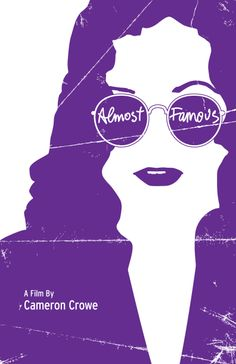 Almost Famous Movie Co, Almost Famous, Minimalist Poster, Trees To Plant, Film, Movie Posters, Colour, Rock, Watch