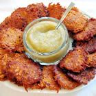 sweet potato latkes... can't wait for Chanukah!