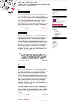 wuketwa Free Blogger Template