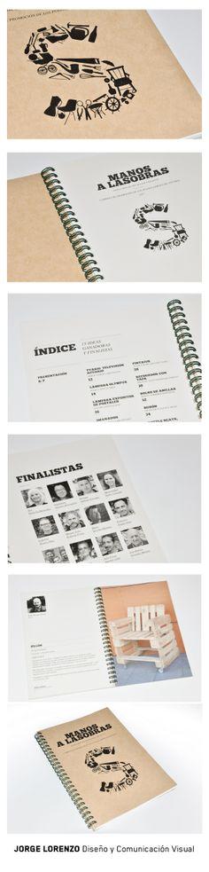 Libro para el concurso de COGERSA sobre reciclaje creativo #recycle #ecological #enviroment #design #creative