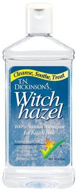 Witch Hazel and its many uses, I love this stuff, great for your FACE