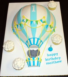 Cake done for my nephew's first birthday party!  It's hard to believe he's a year old already!    I used a soccer ball pan (a...