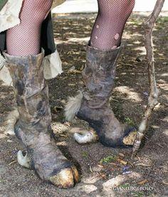 Photo: GianLuigi Polo Shoes: Me & Pietro Rais #shoes #boot #steampunk #crazyshoes #costume