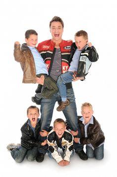 Hykie Berg and kids
