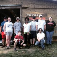 It was a great...but HOT...day on the farm with staff from Lucky 32 Southern Kitchen! They helped us plant sweet potatoes that they will serve at the restaurant when we harvest!! Thanks, Lucky 32, for supporting local farms!! #FoodShuttleGrows #TryonRoadTeachingFarm #Lucky32 #Volunteers