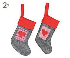 Set de 4 calcetines decorativos Kate - 32 cm