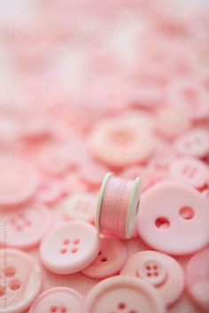 Pink buttons on pink background by Pixel Stories - Stocksy United Pretty Pastel, Pastel Pink, Blush Pink, Wallpapers Rosa, Pink Photography, I Believe In Pink, Fuchsia, Everything Pink, Pink Love