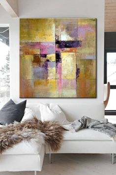 Large original painting on canvas gold painting pink painting contemporary art painting canvas abstract painting hand painting canvas art - Abstract painting Oil Painting wall art deco original art - Art Painting, Abstract Painting, Painting, Art, Abstract, Canvas Painting, Original Art, Modern Art Abstract, Contemporary Art Painting