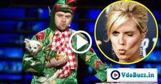 Comedic Magician Tricks Heidi Klum And Kiss Her On The Lips In America's Got Talent Magic Tricks Revealed, Magic Show, America's Got Talent, Heidi Klum, The Magicians, Ronald Mcdonald, Kiss, Kisses, A Kiss