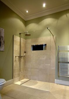 Wet Room Design Ideas If you are thinking about ways to spruce up your interior then you should look into wet rooms. What is a wet room you ask? Simple: its a new approach to bathroom design in which there is no tub shower screen or tray. Wet Room Bathroom, Downstairs Bathroom, Bathroom Renos, Bathroom Interior, Home Design Decor, House Design, Design Ideas, Interior Design, Small Wet Room