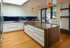 Karaka Bays, Wellington contemporary kitchen