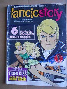 Lanciostory n°10 1975 primo episodio di Tiger Kiss   [G407]