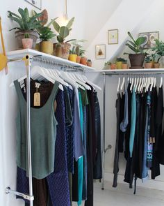 Clothes + plants ♡  #kolifleur #secondhand