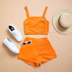 Summer Outfits Casual For Curvy Girls, Cute Casual Outfits, Outfits For Teens, Pretty Outfits, Stylish Outfits, Girl Outfits, Girls Fashion Clothes, Teen Fashion, Fashion Outfits