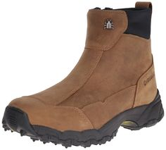 Icebug Metro BUGrip Women Round Toe Leather Tan Work Boot >> Find out more details by clicking the image : Boots
