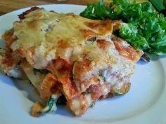 """Veganeren: """"Kylling""""-lasagne med spinat og squash"""