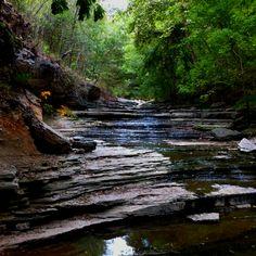 Tanyard Creek in Bella Vista, AR.