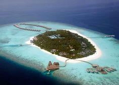 best overwater bungalow resorts maldives kihavah aerial