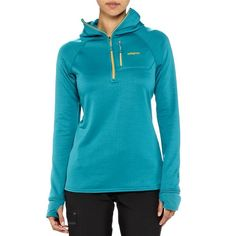 PATAGONIA WOMEN'S R1® FLEECE HOODY Retail $159 / Pro $93  #40075