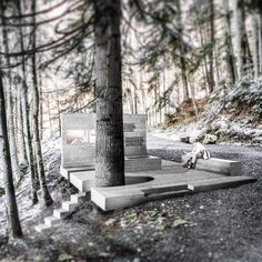 """312 mentions J'aime, 2 commentaires - Marte.Marte Architects (@marte.martearchitects) sur Instagram: """"#Repost @stefan_marte ・・・ Open Air Exhibition 'Masellahütte' #dafins by #martemartearchitects…"""""""