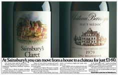 Classic print ads, mostly from the UK. Ah, those were the days when copywriting made good reading. Print Advertising, Print Ads, Print Poster, Haut Medoc, Cherry On The Cake, Saatchi & Saatchi, Food Cost, Good Whiskey, Best Ads