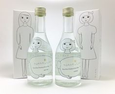 角星 純米吟醸「 NAMI と UMI Adorable #packaging PD
