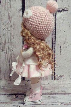 Home doll Interior doll Tilda doll Art doll by AnnKirillartPlace