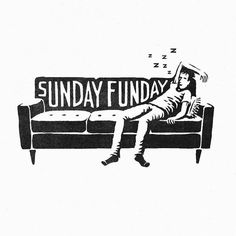 Lazy sunday. Type by @joshuanoom - #typegang - free fonts at typegang.com | typegang.com #typegang #typography