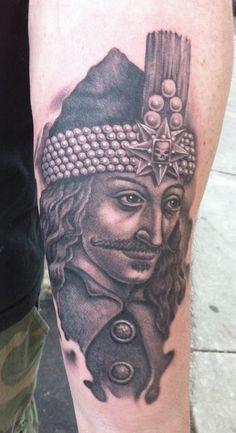 Vlad the Impaler Tattoo by Bob Tyrrell