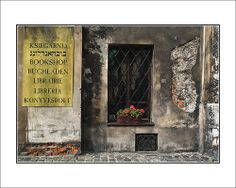 Austeria, a Jewish bookstore in Kraków, Poland.