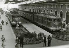 OLD PORTUGAL Estação de Comboios - Stª Apolónia anos 50, Lisboa - PORTUGAL