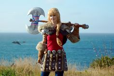 Astrid from How To Train Your Dragon 2 Cosplay http://geekxgirls.com/article.php?ID=5762