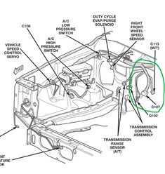 Jeep Cherokee XJ Suspension Parts Exploded View Diagram