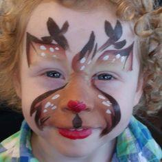 Linda Schrenk || reindeer using TAG teddy bear cake