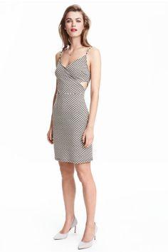 Vestido con textura   H&M