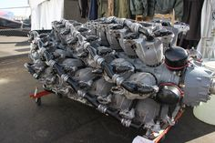 bassman5911: Pratt & Whitney 5600XBSAP (via)  Fuel breathing monster...