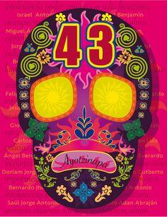 Calavera x los desaparecidos en Ayotzinapa. https://plus.google.com/photos/+EnriquePeralta2014/albums/6079646929889276353