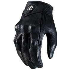 $75 Icon Pursuit Perforated Gloves  - @RevZilla