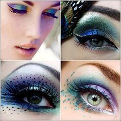 Peacock Inspired Eye Makeup Who Will Try Mesmerizing Peacock Inspired Eye Makeup Peacock Inspired Eye Makeup Lovely Peacock Inspired Makeup Ideas Hairstyles Nail Art Beauty. Peacock Inspired Eye Makeup 18 Peacock Feather Inspired E. Fairy Eye Makeup, Peacock Eye Makeup, Bridal Eye Makeup, Dramatic Eye Makeup, Witch Makeup, Halloween Eye Makeup, Halloween Eyes, Dramatic Eyes, Blue Eye Makeup