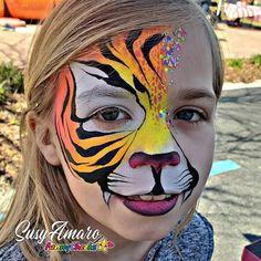 - Famous Last Words Hobbies For Women, Hobbies To Try, Hobbies That Make Money, Tiger Face Paints, Face Painting Designs, Paint Designs, Face Paint Makeup, Famous Last Words, Cat Face