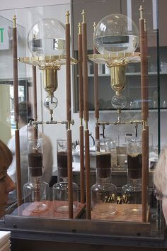 Blue Bottle's steampunk coffee by d·a·v·e·l, via Flickr