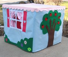 Standard Card Table Playhouse PATTERN ebook by missprettypretty, $13.00