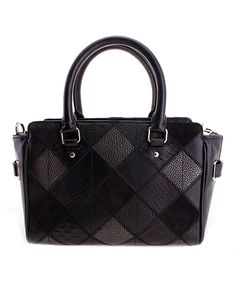 Another great find on #zulily! Black Mini Blake Leather Carryall by Coach #zulilyfinds